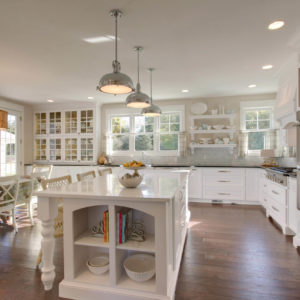 farmhouse kitchen painted white glass doorsweb