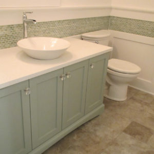 green half bath vanity vessel sinkweb