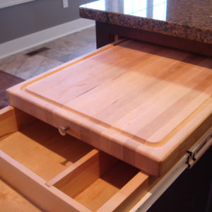 pullout cutting board and cuterly drawerweb
