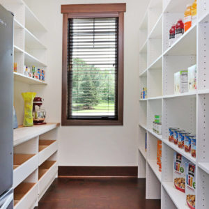 white melamine pantry with pullout shelvesweb